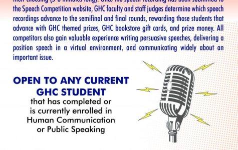 Enter the speech competition today.