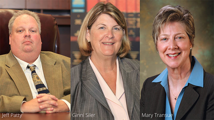 Highlands says farewell to three vice presidents