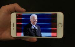 Viewers across the country watch the live stream of President Joe Biden being inaugurated.