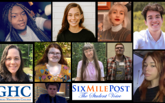 The Six Mile Post staff win awards in state competitions.