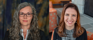 Jennifer Hicks named execu- tive director of enrollment. Maggie Jackson named student enrollment supervisor. Photos contributed by J. Hicks and M. Jackson.