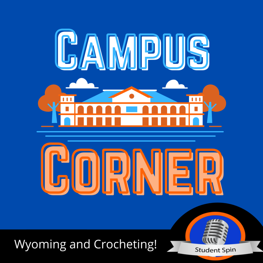 Wyoming and Crocheting!