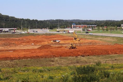 The construction site for the new baseball and softball  complex is underway in Cartersville.
